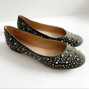 NWOT Nine West Studded Flats